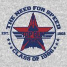 Top Gun Class of 86 - Need For Speed by simonbreeze