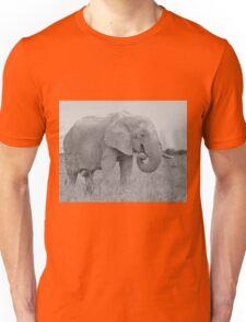 Elephant Bull - Wildlife Peace and Harmony Unisex T-Shirt