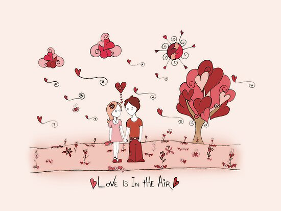 Love Is In The Air by Amy-lee Foley