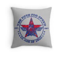 Top Gun Class of 86 - Need For Speed - Warn Look Throw Pillow