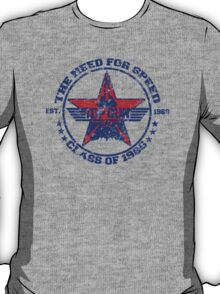 Top Gun Class of 86 - Need For Speed - Warn Look T-Shirt