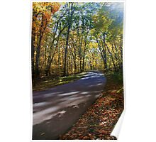 Typical Fall Day Poster