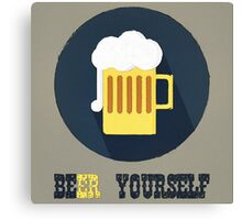 Beer Yourself Canvas Print