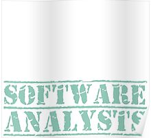 8th Day Software Analysts T-shirt Poster