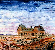 The Fingal Mine Office by robert murray