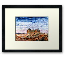The Fingal Mine Office Framed Print