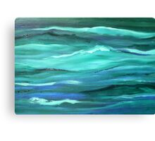 Ocean swell'... Canvas Print