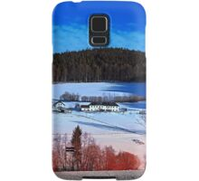 A sunny afternoon in winter wonderland | landscape photography Samsung Galaxy Case/Skin