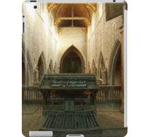 With eyes wide open iPad Case/Skin