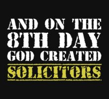 8th Day Solicitors T-shirt by musthavetshirts