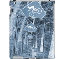 Bicycle Caution Traffic Sign iPad Case/Skin