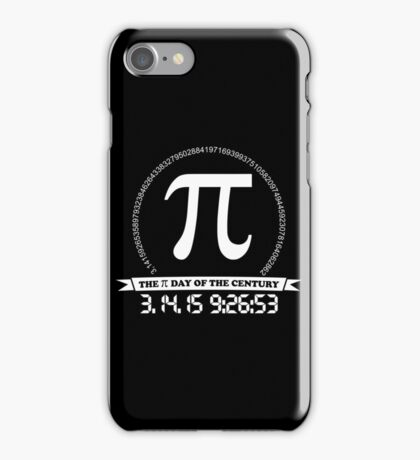 2015 Pi day of the century iPhone Case/Skin