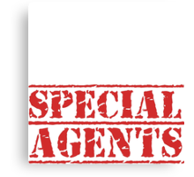 8th Day Special Agents T-shirt Canvas Print