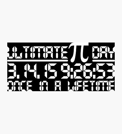2015 Ultimate Pi day Photographic Print