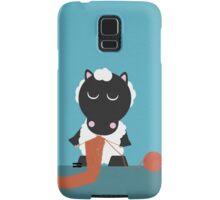 Knitting sheep Samsung Galaxy Case/Skin