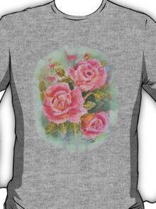 PINK POSY  I PAD CASES/PHONECASE,TEE SHIRT,STICKER/ART T-Shirt