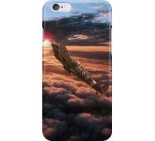 Spitfire Sundown  iPhone Case/Skin