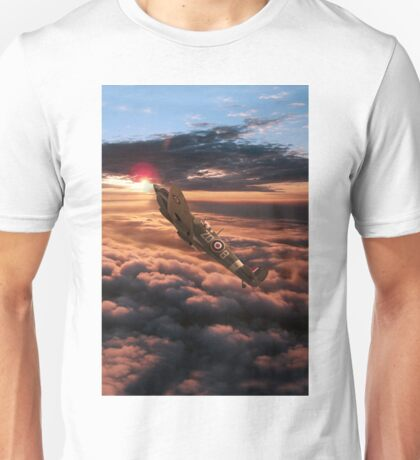 Spitfire Sundown  Unisex T-Shirt