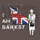 I am Banksy by nofrillsart