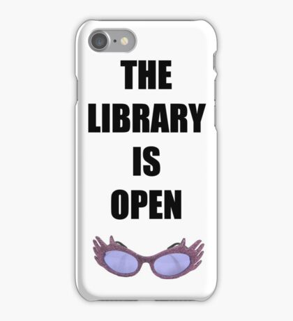 RuPaul - Library iPhone Case/Skin