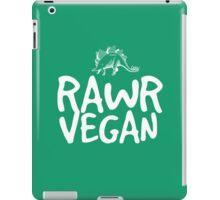 RAWR VEGAN STEGGY iPad Case/Skin