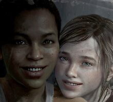 the last of us - Ellie and Riley by ccondescending