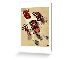 Where the heart is Greeting Card