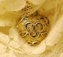 Gold & Lace by Bev Woodman