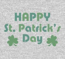 Happy St. Patrick's Day One Piece - Long Sleeve