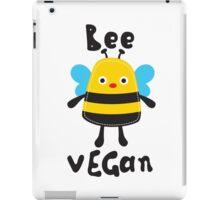BEE VEGAN iPad Case/Skin