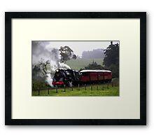 Back in time, Glenbrook, New Zealand Framed Print
