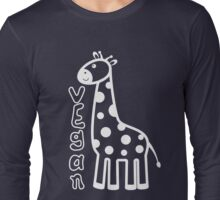 KIDS VEGAN GIRAFFE Long Sleeve T-Shirt