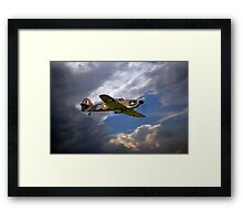 Hurricane LF363 Framed Print