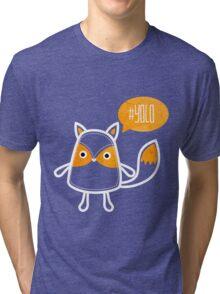 YOLO OWL Tri-blend T-Shirt