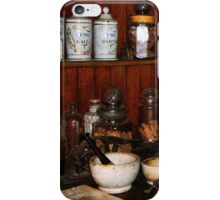 Mortar and Pestle in Drug Store iPhone Case/Skin