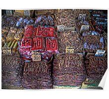 Dried Seafood, Bangkok Thailand Poster