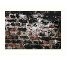 Just another brick in the wall Art Print
