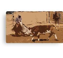Cowboys Up Canvas Print