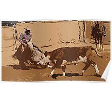 Cowboys Up Poster