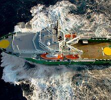 MV Ocean Ness by Terry Mooney