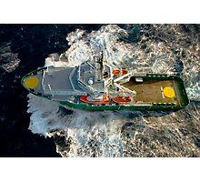 MV Ocean Ness Photographic Print