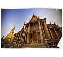 Grand Palace Complex, Bangkok Thailand Poster
