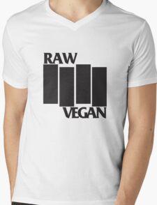 RAW VEGAN FLAG Mens V-Neck T-Shirt