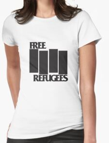 FREE REFUGEES FLAG T-Shirt
