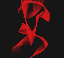 red woman by square