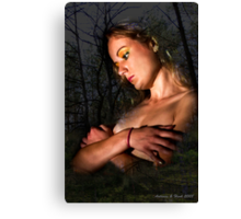 The Angel of Night Canvas Print