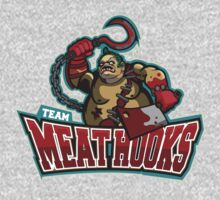 Pudge Team Meat Hooks Dota 2 by wowzuki