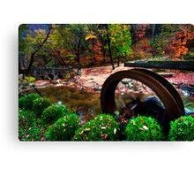 Fall Garden Canvas Print