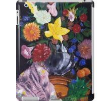 Aso-Oke and flowers- still-life iPad Case/Skin
