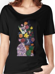 Aso-Oke and flowers- still-life Women's Relaxed Fit T-Shirt